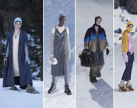 Miu Miu nos invita a derrochar estilo bajo la nieve con su nueva colección Otoño-Invierno 2021/2022