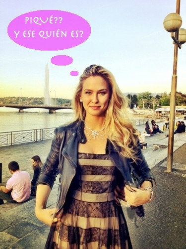 Shakira puede estar tranquila, a Bar Refaeli no le interesa Piqué... o eso dice