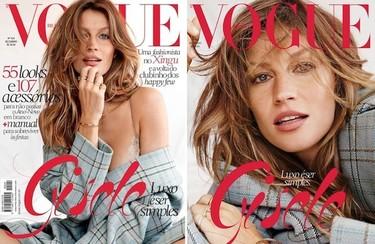 Duelo de portadas: ¿Gisele Bündchen o creatividad?