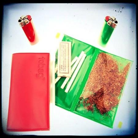 The tobacco bag