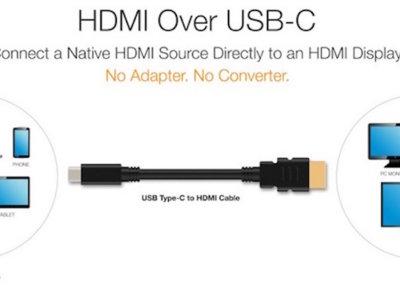 El nuevo estándar HDMI le da la bienvenida al USB-C de forma nativa y sin adaptadores