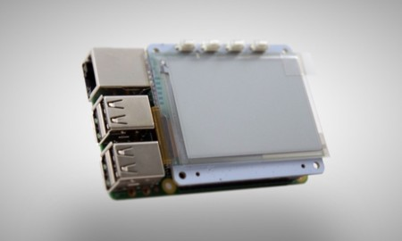 Papirus Epaper Eink Screen Hat For Raspberry Pi