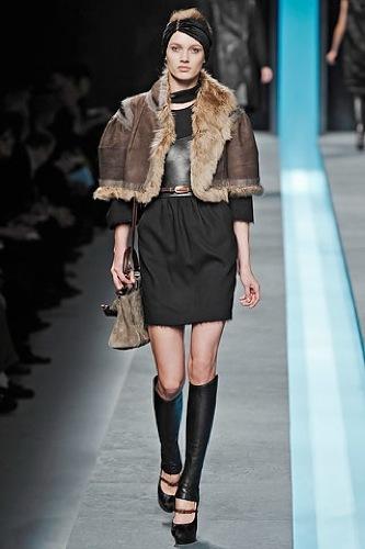 Fendi Otoño-Invierno 2009/2010 en la Semana de la Moda de Milán, mohair