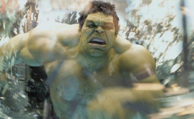Mark Ruffalo como Hulk en una escena de Los Vengadores