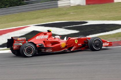 Pole para Kimi Raikkonen en Nurburgring