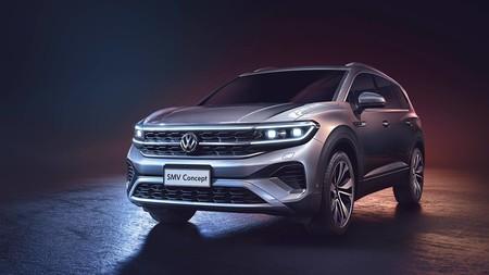 El SMV Concept anticipa otro SUV de Volkswagen, el más grande en su historia