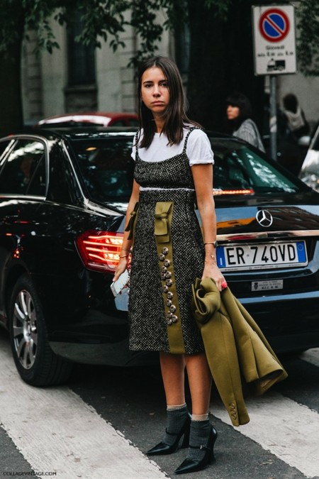 Mfw Milan Fashion Week Spring Summer 2016 Street Style Say Cheese Natasha Goldenberg Prada 1 790x1185