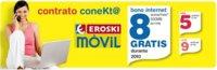 Nuevo Contrato Conekt@ de Eroski Móvil con 500MB gratis al mes durante 2010