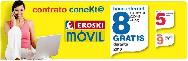 Contrato Conekt@ Eroski Móvil
