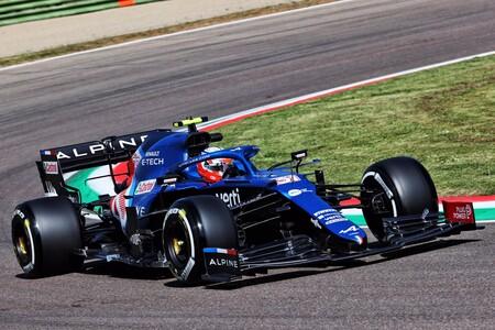 Ocon Imola F1 2021