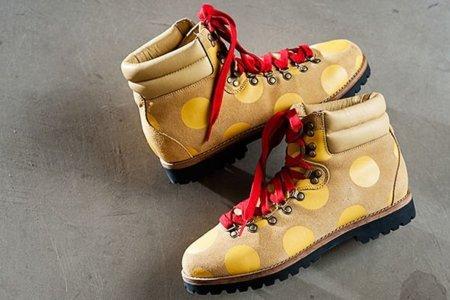 JS Polka Dots Boots, botas de montaña con el sello de Jeremy Scott