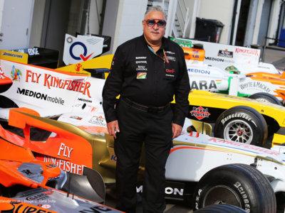 Force India en apuros: Vijay Mallya con orden de aprehensión ¿Slim al rescate?