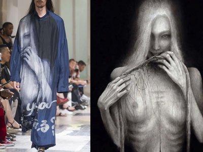 Conoce el trabajo de Suzume Uchida, la artista que inspiró la (muy oscura) colección de Yohji Yamamoto
