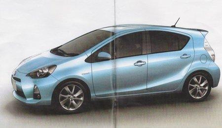 Toyota Prius C, filtrado antes de tiempo