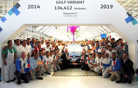 Volkswagen De Mexico Produce La Ultima Unidad De Golf Variant