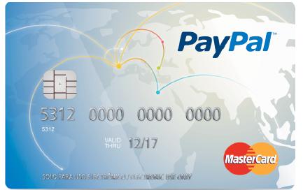 Paypal tarjeta Prepago