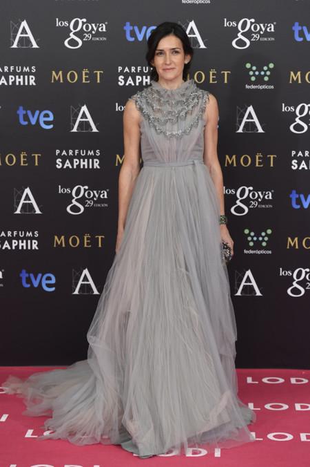 Angeles Gonzalez Sinde Marco Maria vestido Goya 2015