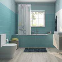 Colores vivos, una tendencia al alza para el cuarto de baño