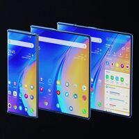 TCL Fold 'n Roll se dobla y se estira para ser smartphone, phablet y tablet: tres dispositivos en uno es la nueva idea de TCL