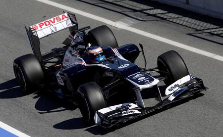 Valtteri Bottas, el más rápido en el primer día de pruebas en Silverstone