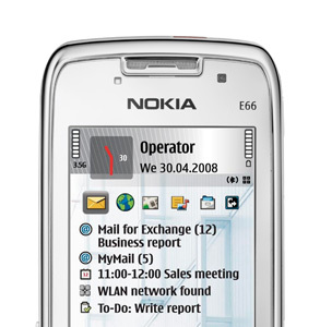 Revisión del Nokia E66