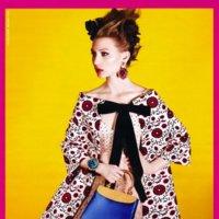 Maria Antonieta vestía de Miu Miu Primavera-Verano 2012. Así lo vemos en su campaña
