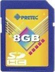 Primera tarjeta  SDHC de 8GB