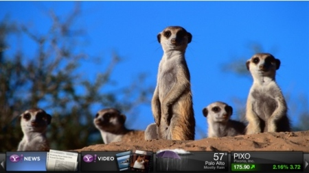 TV Widgets de Yahoo llega a España