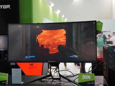 Acer también presume de monitores con tres nuevos modelos de gran formato para este 2016
