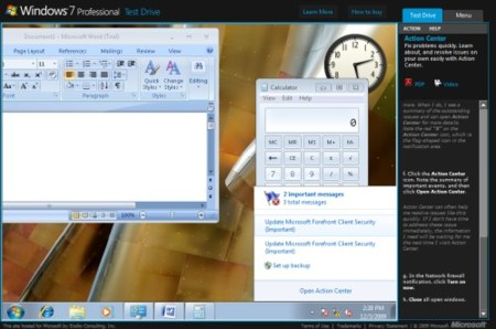 Windows 7 Test Drive, prueba Windows 7 desde la web