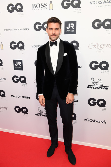 Johannes Huebl Red Carpet Arrivals Gq Men Of The Year Award 2018
