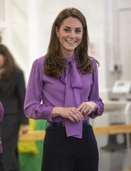 Kate Middleton luce la blusa que querrás lucir esta primavera