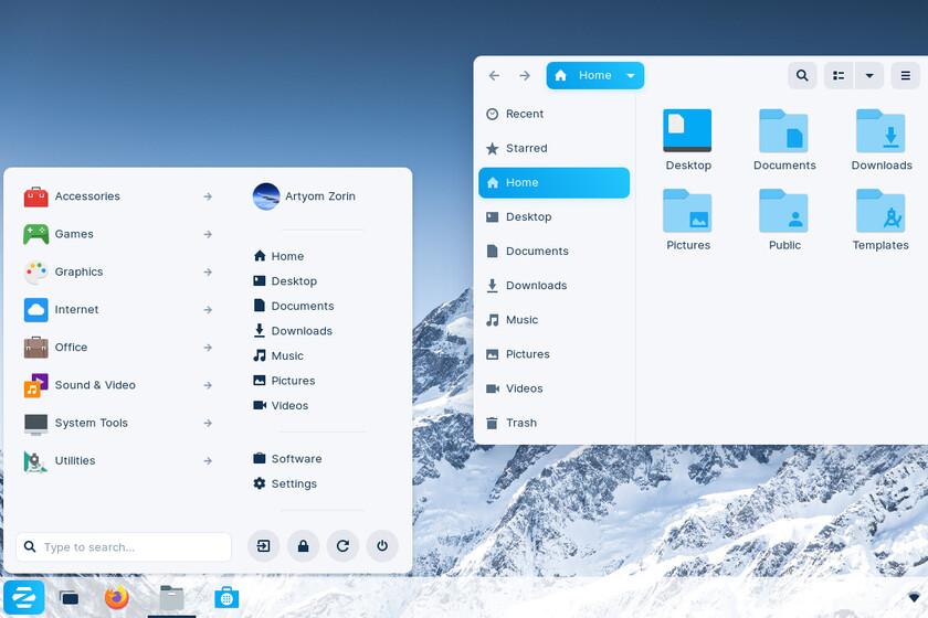 Zorin OS 16 luce genial: la distro Linux que quiere atraer a los usuarios de Windows 10 y macOS con la menor fricción posible