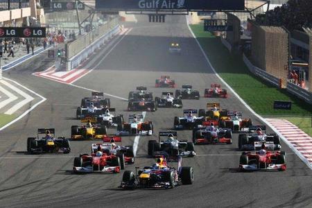 La temporada 2012 de F1 empezará el 18 de marzo