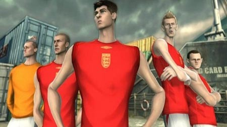 FifaStreet 3 England