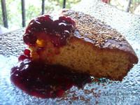 Torta de centeno y frutas secas. Receta