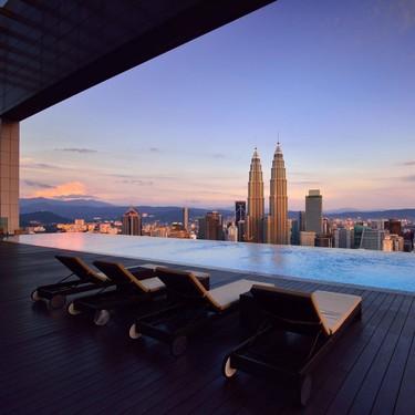 Nueve hoteles alrededor del mundo con piscinas que te garantizan una vista increíble