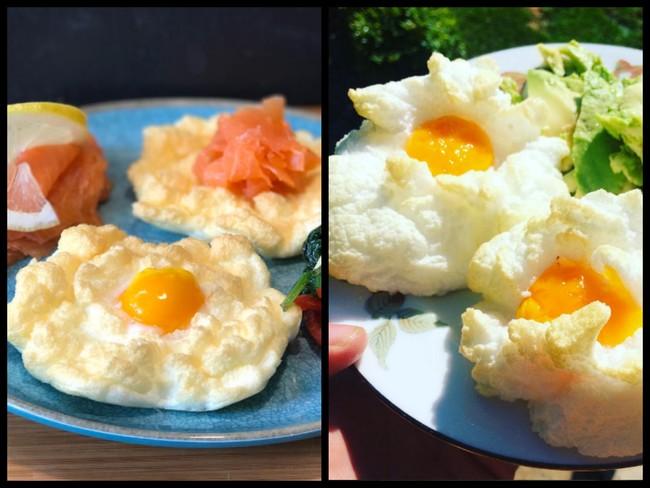 Cloud eggs: así se preparan los sanos y sabrosos huevos al horno que triunfan en Instagram
