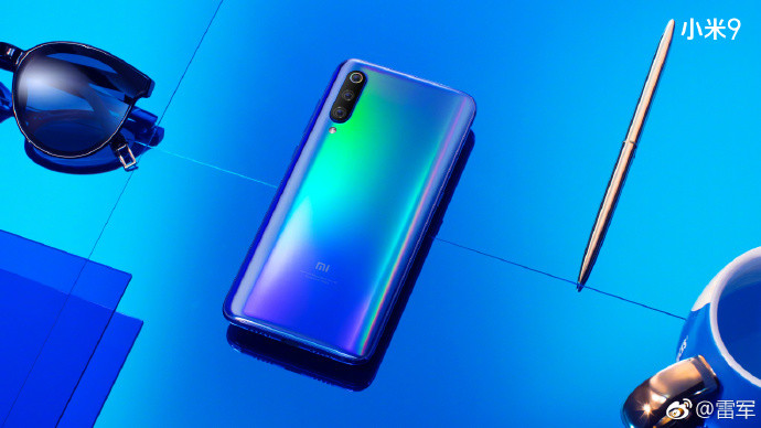 Xiaomi Mi 9 can be seen in renders official and appears a version Explorer with four cameras