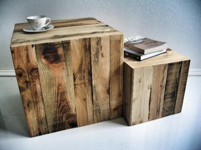 cubos madera