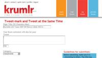 Krumlr, nuevo y sencillo marcador social con soporte para Twitter