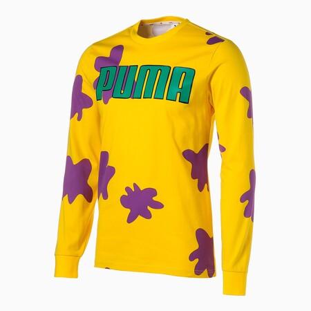 Puma X Rugrats Long Sleeve Men S Basketball Tee