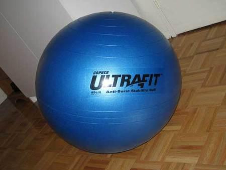 Una nueva manera de estirar con fit ball