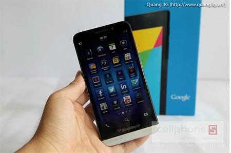 BlackBerry Z30 aparece sin tapujos en un nuevo video
