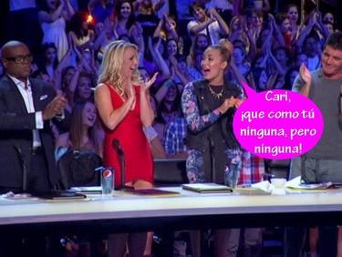 Demi Lovato haciendo amigos: Britney Spears es irremplazable en The X Factor
