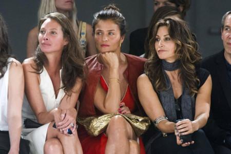 ¡No sin mi asiento! La Semana de la Moda de las Famosas en Nueva York