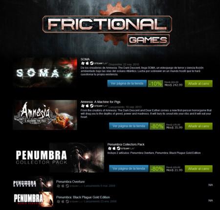Frictional Games Ofertas
