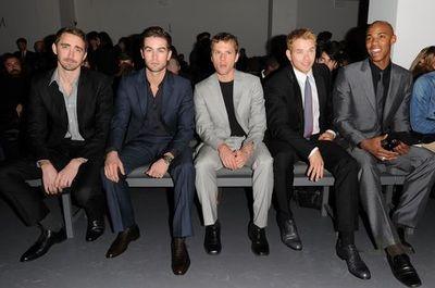 El front row del desfile de Calvin Klein en la Semana de la Moda de Nueva York