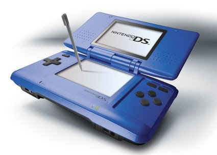 Nueva Nintendo DS electric blue