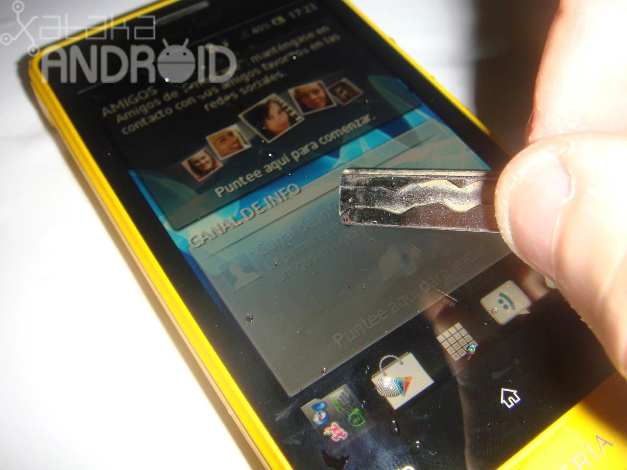 Foto de Análisis del Sony Xperia go (10/36)